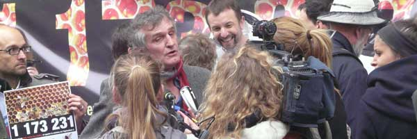 Henri Clement – President of the French Beekeepers interviewed in Paris